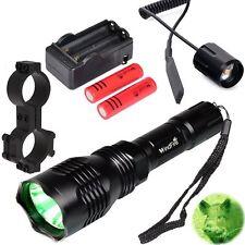 WindFire 350 lumens Green Light Hunting Kit CREE LED Coyote Hog Fox Flashlight