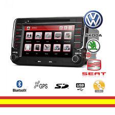 Autoradio para Seat VW y Skoda HD Gps Bluetooth 2IN xtrons PF73MTV con canbus