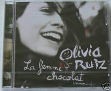 LA FEMME CHOCOLAT - RUIZ OLIVIA (CD)  NEUF SCELLE