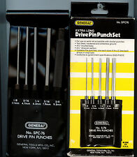 PIN PUNCH 5 PCS EXTRA LONG DRIVE PIN PUNCH  SET SPC76 MADE IN USA BRAND NEW