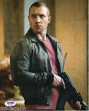 Jai Courtney Divergent Die Hard Reacher Autograph 8x10 Photo Psa Dna Coa mr-43