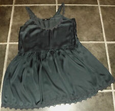 LADIES SPORTSGIRL GREY SUMMER COCKTAIL DRESS UK 14 EUR 40