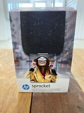HP Sprocket Instant Photo Printer 2nd Edition - Noir Black | Brand New |