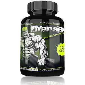 Dyanabol Pre Workout Booster  Pump Testosteron Testo Muskelaufbau Extrem Schnell