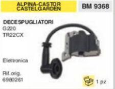 6980261 BOBINA DECESPUGLIATORE ALPINA CASTOR CASTEL GARDEN G220 TR22CX ELETTR