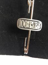 """100% Pure Bull Sh*t A12 Scarf and Kilt Pin Pewter 3"""" 7.5 cm"""