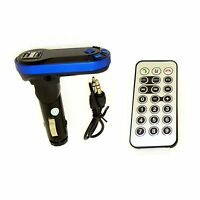 BLUETOOTH WIRELESS CAR AUDIO MP3 PLAYER MODULATOR REMOTE FM RADIO TRANSMITTER