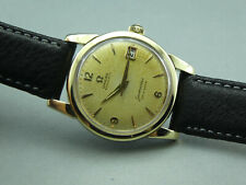 Vintage-Sammler-Uhr OMEGA Seamaster Calendar  2849-3SC Goldhaube Swiss cal.503