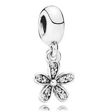 New European Silver CZ Charm Beads Fit sterling 925 Necklace Bracelet Chain cjw2