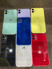 For iPhone XR Replace To iPhone 12 Back Door Metal Glass Battery Housing Cover