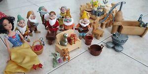 Biancaneve e i Sette Nani Mattel Disney 2012 Cottage snowhite seven dwarfs