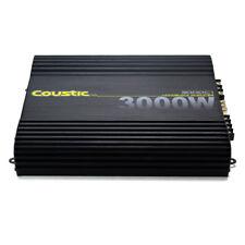 *NEW* COUSTIC 3000C1 3000W CLASS-D MONOBLOCK CAR AUDIO AMPLIFIER (3000-C1)