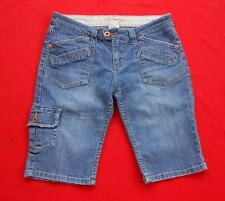 YMI ~ Juniors Jean Bermuda Style Casual Shorts ~ Size 7
