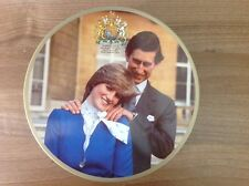 PRINCESS DIANA- HUNTLEY & PALMERS ROYAL WEDDING BISCUIT TIN - RARE VINTAGE FIND