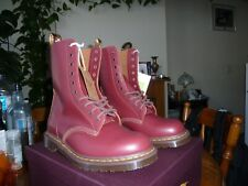 Dr Martens 1490 Vintage 10 EYE  Made In England Size UK 9 Quilon Leather EU 43