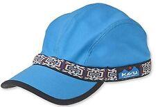 KAVU Strapcap Fishing Hat Low Profile Four Panel Cap - Turquoise