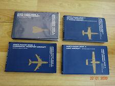 SET of 4 JANE'S POCKET AIRCRAFT BOOKS