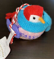Target Wondershop Featherly Friends Mini Fabric Bird Ornament 2020 Retired New