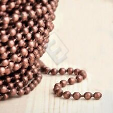4m Iron Ball Chain Unfinished Chains Necklace Jewelry Making 2.4x2.4mm DIY