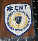 EMT Emergency Medical Technician Commonwealth of Massachusetts Cloth Patch Only