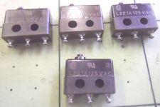 MICRO SWITCH 3SX1-T 9618 L221A 125 VAC (QTY 1) #3594A