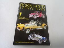 Robin Hood kit car sales brochure from 2004,collectors item, reference book