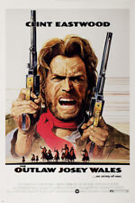 classic WESTERN CLINT EASTWOOD the OUTLAW JOSEY WALES movie poster HD PRINT