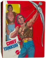 BIG JIM ☆ CHIEF TANKUA ☆ '75 # 7386 - MADE IN HONG KONG - ► NEW ◄ REPROBOX v.5