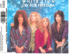 WHITE LION - Cry for freedom CD SINGLE 3TR (Atlantic) 1989 Germany Pop Rock