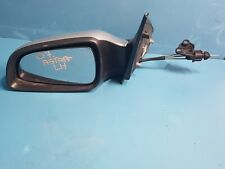 2007 Vauxhall Opel Astra E1010806 Left Side Passenger Manual Wing Mirror