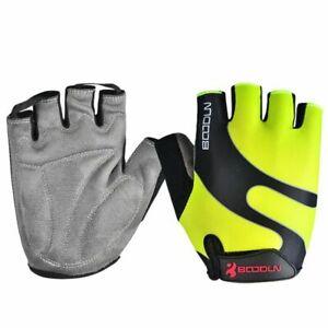 Men Women Cycling Gloves Half Finger Skate Airsoft Sport MTB Bike Bicycle Kids