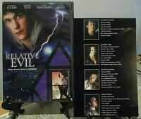 """Relative Evil"" (DVD 2004) w/ Insert *Family DRAMA Teenage COMEDY Jennifer Tilly"