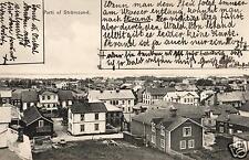 13123/ Foto AK, Parti af Strömsund, 1924