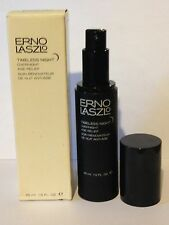 ERNO LASZLO TIMELESS NIGHT OVERNIGHT AGE RELIEF SERUM~HUGE SIZE 1.5 OZ / 45 ML