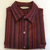 Vintage Da Vinci California Button Front Shirt Men's XL 80% Rayon 20% Cotton