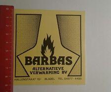 Aufkleber/Sticker: Barbas alternatieve verwarming bv (210117140)