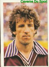 058 TRINCHERO SERVETTE GENEVE VIGNETTE STICKER FOOTBALL 1980 BENJAMIN RARE NEW