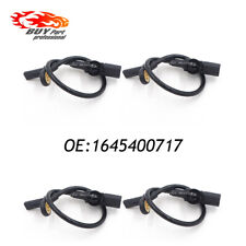 Set of 4 Front Rear ABS Wheel Speed Sensor for Mercedes-Benz W164 GL ML320 ML350