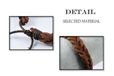 Men's Bracelet Braided Leather