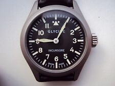 Men's Pilot / Aviator Watch Glycine Incursore ETA 6497-1 Swiss Made Ref. 3762