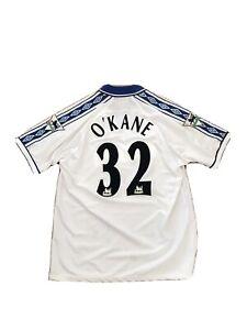 John O'Kane Signed Game Worn/Issued 1998/99 Everton Away Shirt AFTAL/UACC RD