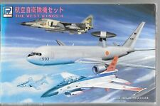 Sky Wave-Pit Road JASDF Aircraft, E-767 AWACS, F-1, F-2, T-2, T-4 1/700 S16