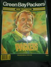 1992 GREEN BAY PACKERS FOOTBALL YEARBOOK - MIKE HOLMGREN