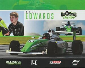 2019 Will Edwards Gas Monkey Energy Honda SCCA F4 Championship postcard