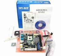 DFI ITOX G4M100-MS12 G4M101-072G   mPGA479M Mini-ITX Motherboard + CPU