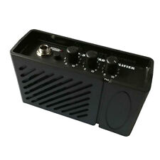 Mini 2W 9V Portable Guitar Bass Practice Headphone Amp Amplifier Speaker