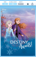 Topps Disney Collect - Frozen 2 Mythical Wonderland award *2013cc DIGITAL