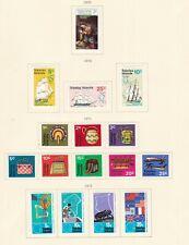 TOKELAU ISLANDS ^^^^1970-72   hinged    sets    on page $$@ sc113x xb