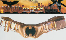 Batman Plastic Child Belt With Hook & Loop Closure The Dark Knight Rises Rubies