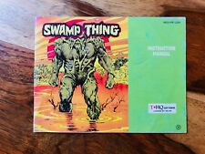Swamp Thing Manual Booklet Nintendo NES Good Condition Very Rare